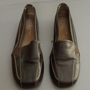 A2 By Aerosoles Tricycle Leather Shoes Sz 9 1/2M